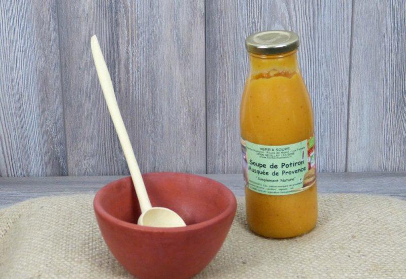 Soupe courge Musquée de Provence 0,5L