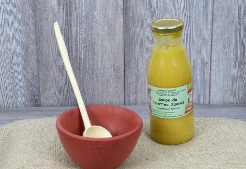 Soupe carottes jaunes 0,5L