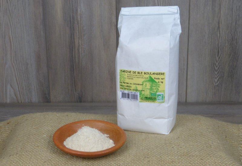 Farine blé boulangère T80