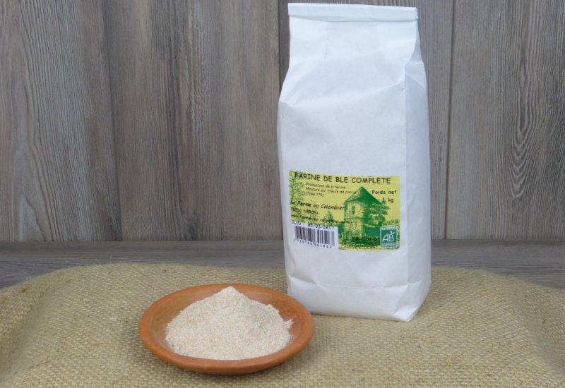 Farine blé complète T110