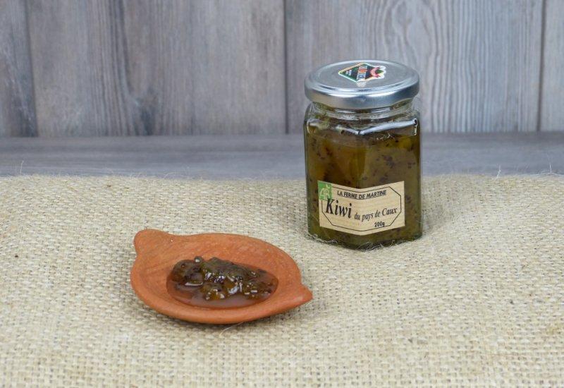 Confiture de kiwi du Pays de Caux
