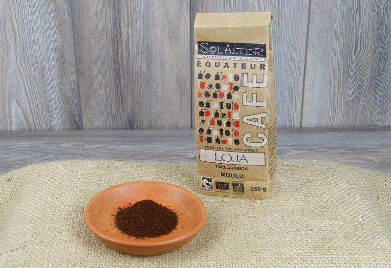 Café moulu 100% arabica - Loja