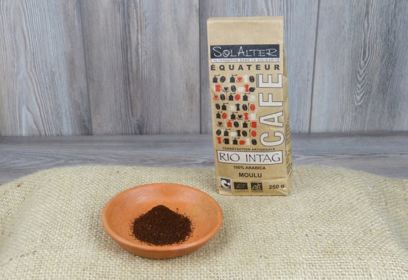 Café moulu 100% arabica - Rio Intag