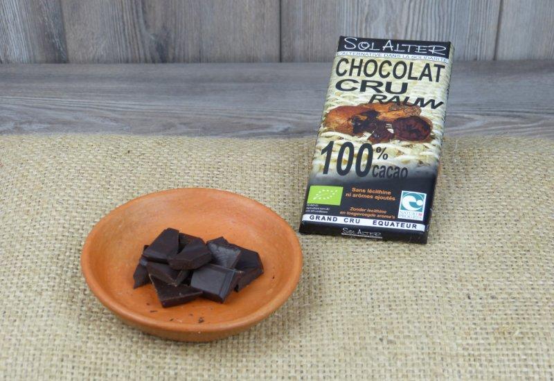 Chocolat 100% CRU