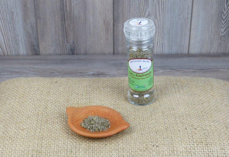 Moulin à sel ail et fines herbes