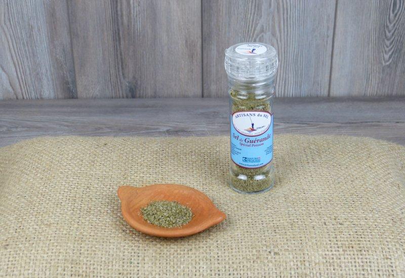 Moulin à sel spécial poisson
