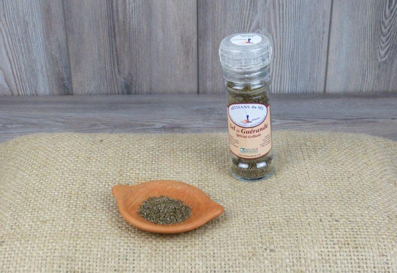 Moulin à sel spécial grillade