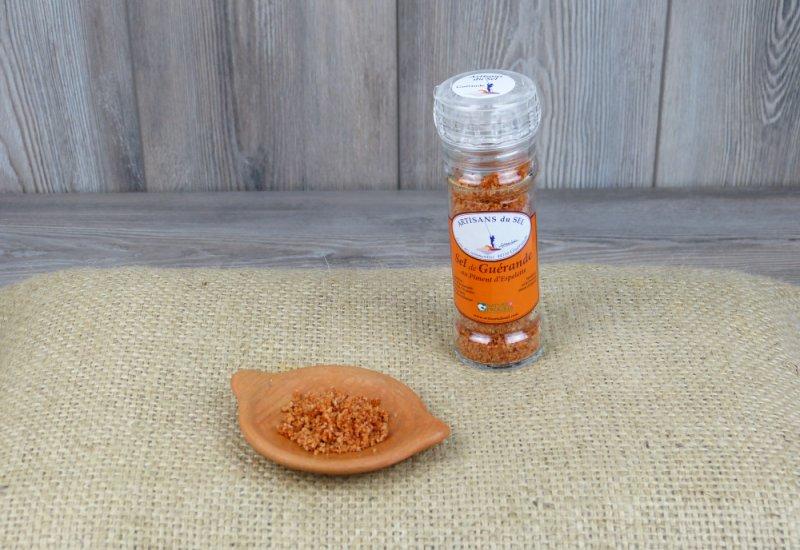 Moulin à sel au piment d'espelette