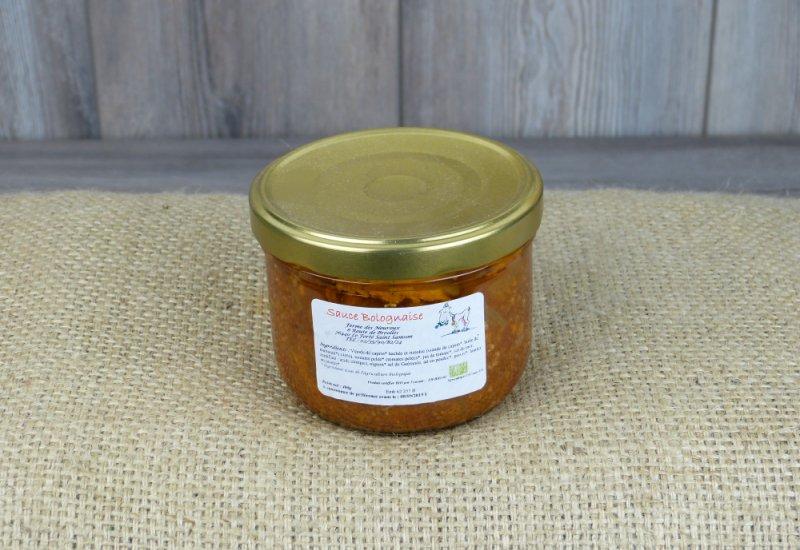 Sauce bolognaise de chevreaux - 1 à 2 pers