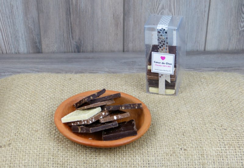 Assortiment chocolats - 15 carrés