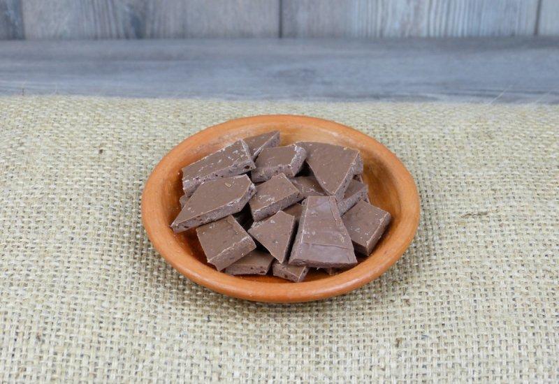 Chocolat au lait caramel