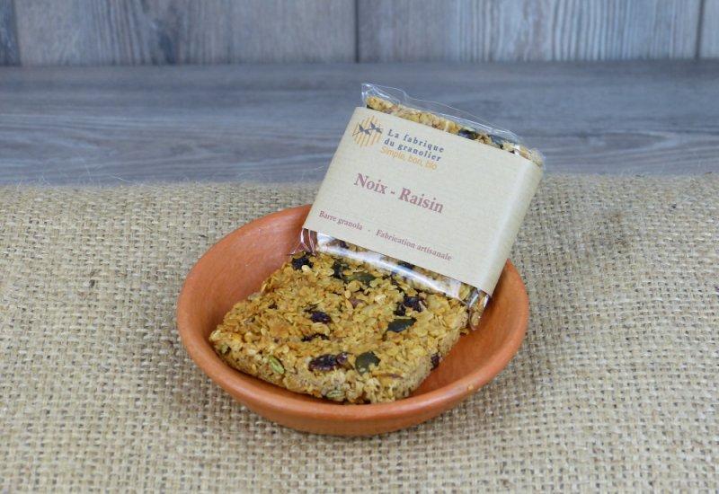 Barre Granola noix-raisin