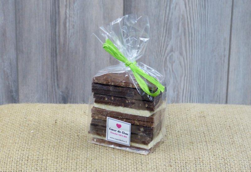 Assortiment chocolats - 14 quarts