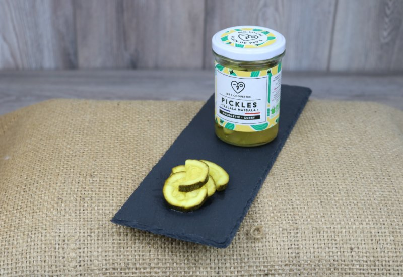 Pickles courgette-curry