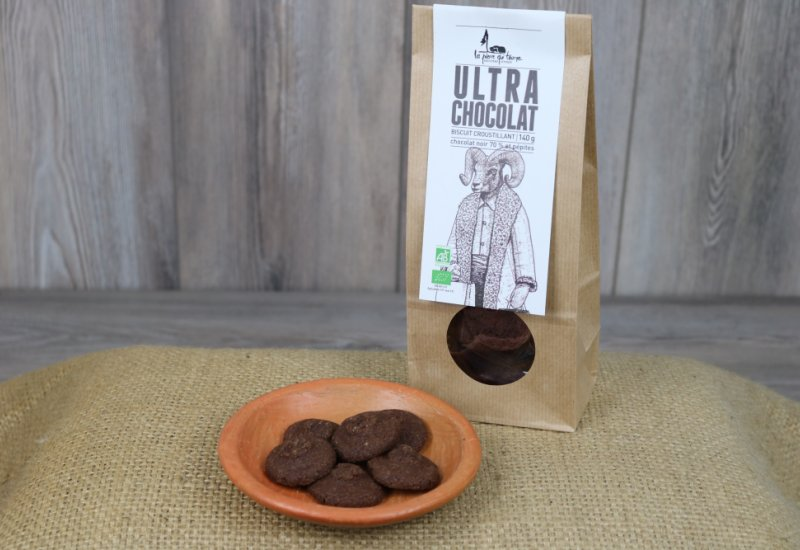 Biscuits ultra chocolat