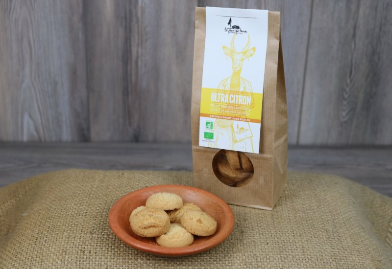 Biscuits ultra citron
